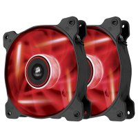 Кулер для корпуса CORSAIR Air AF120 LED Red Quiet Edition Twin Pack (CO-9050016-RLED)