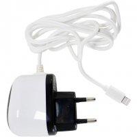 Сетевое зарядное устройство POWERPLANT 1A Lightning для iPhone 5