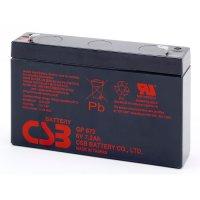 Аккумуляторная батарея CSB GP672 (6В, 7.2Ач)