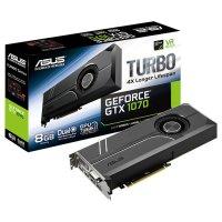 Видеокарта ASUS GeForce GTX 1070 8GB GDDR5 256-bit Turbo (TURBO-GTX1070-8G)