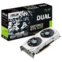 Видеокарта ASUS GeForce GTX 1070 8GB GDDR5 256-bit Dual (DUAL-GTX1070-8G)