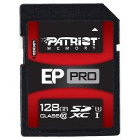 Карта памяти PATRIOT microSDXC EP Pro 128GB UHS-I Class 10 (PEF128GSXC10333)