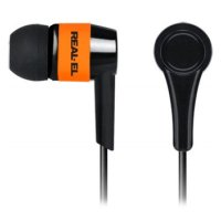 Наушники REAL-EL Z-1005 Black/Orange