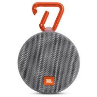 Портативная акустическая система JBL Clip 2 Gray