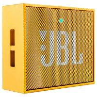 Портативная акустическая система JBL Go Yellow