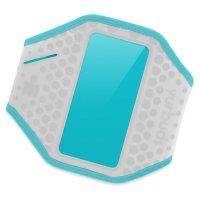 Чехол для смартфона YURBUDS Ergosport Armband Gray/Aqua (YBWNARMB01GNA)