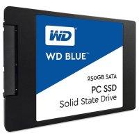 """SSD WD Blue 250GB 2.5"""" SATA (WDS250G1B0A)"""