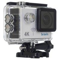 Экшн-камера BRAVIS A3 White (A3 AC WHITE)