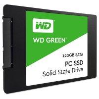 """SSD WD Green 120GB 2.5"""" SATA (WDS120G1G0A)"""