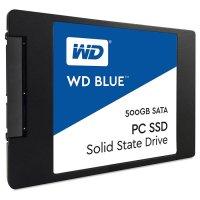 """SSD WD Blue 500GB 2.5"""" SATA (WDS500G1B0A)"""