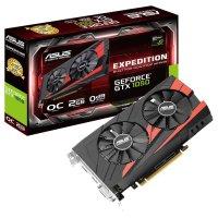 Видеокарта ASUS GeForce GTX 1050 2GB GDDR5 128-bit Expedition OC (EX-GTX1050-O2G)