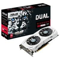 Видеокарта ASUS Radeon RX 480 8GB GDDR5 256-bit Dual OC (DUAL-RX480-O8G)