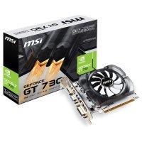 Видеокарта MSI GeForce GT 730 1GB GDDR3 64-bit OC (N730K-1GD3/OCV2)