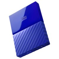 "Внешний портативный винчестер 2.5"" WD My Passport 4TB USB3.0/Blue (WDBYFT0040BBL-WESN)"