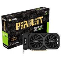 Видеокарта PALIT GeForce GTX 1050 Ti 4GB GDDR5 128-bit Dual OC (NE5105TS18G1D)