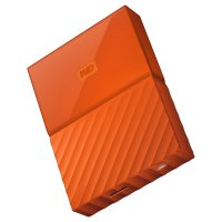 "Внешний портативный винчестер 2.5"" WD My Passport 3TB USB3.0/Orange (WDBYFT0030BOR-WESN)"