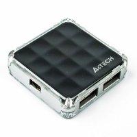 USB хаб A4TECH HUB-56 Black