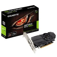 Видеокарта GIGABYTE GeForce GTX 1050 Ti 4GB GDDR5 128-bit LP OC (GV-N105TOC-4GL)