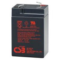 Аккумуляторная батарея CSB GP645 (6В, 4.5Ач)