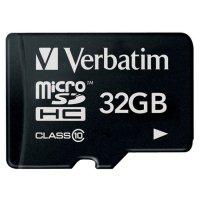 Карта памяти VERBATIM microSDHC Premium 32GB Class 10 (VRB 44013)