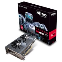 Видеокарта SAPPHIRE Radeon RX 480 8GB GDDR5 256-bit Dual-X Nitro OC (11260-20-20G)