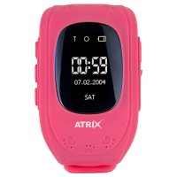 Смарт-часы ATRIX IQ300 GPS Pink