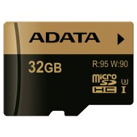 Карта памяти ADATA microSDHC XPG 32GB UHS-I U3 Class 10 (AUSDH32GXUI3-R)