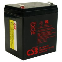 Аккумуляторная батарея CSB HR1221W (12В, 5Ач)