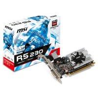 Видеокарта MSI Radeon R5 230 1GB GDDR3 64-bit LP (R5 230 1GD3 LP)