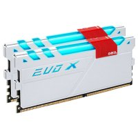 Модуль памяти GEIL EVO X Frost White DDR4 2400MHz 16GB Kit 2x8GB (GEXW416GB2400C16DC)