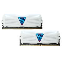 Модуль памяти GEIL Super Luce Frost White with White LED DDR4 2400MHz 16GB Kit 2x8GB (GLWW416GB2400C16DC)