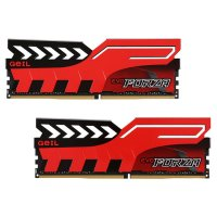 Модуль памяти GEIL EVO Forza Hot-Rod Red DDR4 2400MHz 8GB Kit 2x4GB (GFR48GB2400C16DC)