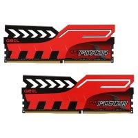 Модуль памяти GEIL EVO Forza Hot-Rod Red DDR4 3200MHz 16GB Kit 2x8GB (GFR416GB3200C16DC)