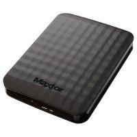 """Внешний портативный винчестер 2.5"""" SEAGATE MAXTOR M3 1TB USB3.0 (HX-M101TCB/GMR)"""