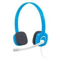 Наушники LOGITECH H150 Stereo Headset Blueberry