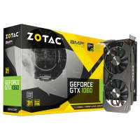 Видеокарта ZOTAC GeForce GTX 1060 3GB GDDR5 192-bit AMP! Edition (ZT-P10610E-10M)