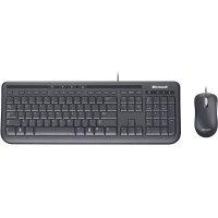 Комплект клавиатура + мышь MICROSOFT Wired Desktop 600 (3J2-00015)