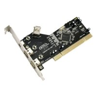 Контроллер MAXXTRO PCI to 3+1-Ports FireWire NEC (FW4-NEC)