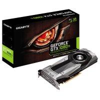 Видеокарта GIGABYTE GeForce GTX 1080 Ti 11GB GDDR5X 352-bit Founders Edition (GV-N108TD5X-B)