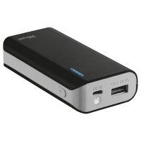 Портативное зарядное устройство TRUST Primo 5200 Black (5200mAh)