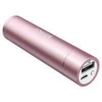 Портативное зарядное устройство ANKER PowerCore+ Mini Pink (3350mAh)