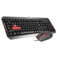 Комплект клавиатура + мышь A4TECH Q1100