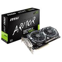Видеокарта MSI GeForce GTX 1080 Ti 11GB GDDR5X 352-bit Armor OC (GTX 1080 Ti ARMOR 11G OC)