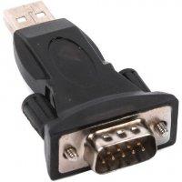 Адаптер VIEWCON USB to 1-Port Serial Dongle (VE042)