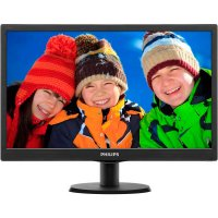 "Монитор 18.5""  PHILIPS 193V5LSB2 Black"