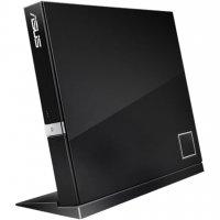 Внешний привод Blu-ray BD-RW ASUS SBW-06D2X-U USB 2.0 Black