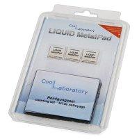 Термоинтерфейс для процессора COOLLABORATORY Liquid MetalPad (3pcs/CL-LMP-3CPU-CS)