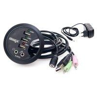 USB хаб GRAND-X DH-60XDC