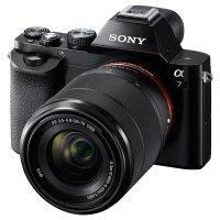 Фотоаппарат SONY Alpha 7 Black Kit 28-70 mm f/3.5-5.6 OSS FE
