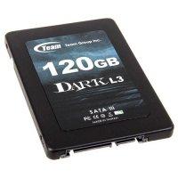 """SSD TEAM Dark L3 120GB 2.5"""" SATA (T253L3120GMC101)"""